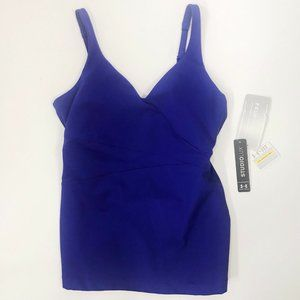 Under Armour StudioLux Perfect Wrap Tank Top NEW